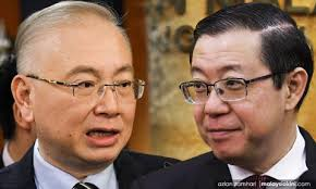 Image result for Lim Guan Eng Wee Ka Siong